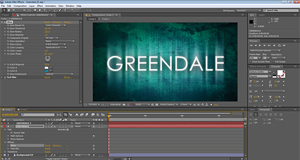 After Effects Greendale screenshot