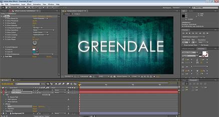 After Effects Greendale screenshot