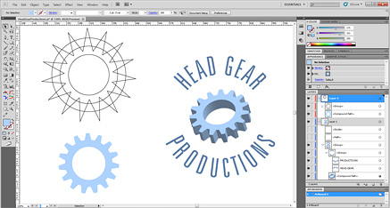 Illustrator Head Gear Productions screenshot